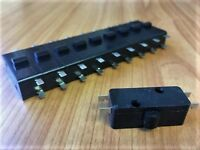 10 x Micro-switch for Jarvis Walker Watersnake foot pedal FREE EXPRESS AUSPOST