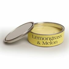 Pintail Candles Large 3 Wick Scented Candle Tin - Lemongrass & Melon