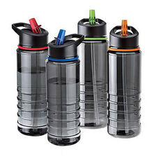 750ml Running Sport Drinks Flip Water Straw 2016 Hiking Bottle Hydration Cycling