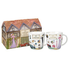 At Your Leisure His Lordship & Her Ladyship 400ml Mugs in Gift Box