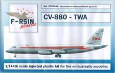 F-rsin Plastic 1/144 Convair CV-880 TWA # FRP4046