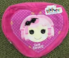 Lalaloopsy Sew Sweet Button Heart Backpack EUC