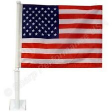 "USA Car Window Flag - Lot of 120 piece - 11""x14"" -Highest Quality on the Market!"