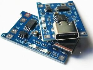 HW-373 TP4056 USB C 1A Lithium Battery Charging Board Li-ion Charger Module