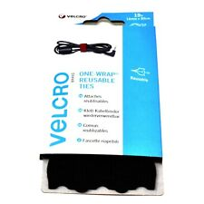 15 x VELCRO® BRAND ONE-WRAP REUSABLE TIES - 12mm x 20cm CABLE MANAGER TIE