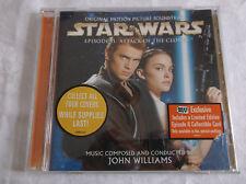Star Wars : Attack of the Clones - Soundtrack (CD) John Williams  Episode II