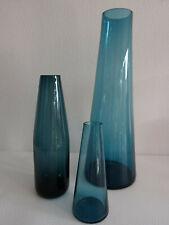 Vasen 60er Jahre Glas 3 Stück (1)