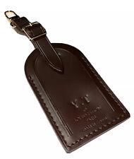 Louis Vuitton Large Name Tag - w/ YT Initials Damier Ebene AUTHENTIC ⭐️