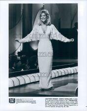 1987 Pretty Blond Debra Sandlund of Illinois Dream Girl USA TV Press Photo