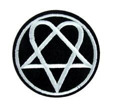 HIM Heartagram Patch Iron on Applique Gloom Metal Ville Valo Doom Love