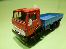MADE IN USSR KAMAZ 5320 TRUCK - RED BLUE 1:43 - EXCELLENT