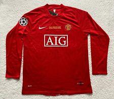 Manchester United Cristiano Ronaldo Nike Replica Red Men's Soccer Jersey - XL