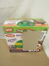 Allstar Innovations Pop N Play Deluxe Interactive Motion Cat Toy Open Box
