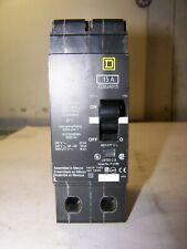 New Square D 15 Amp Circuit Breaker 480 Vac 2 Pole Edb24015