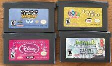 Nintendo Gameboy Advance Games Lot Of 4 Dora Dianey Cartoon Speedway Arthur
