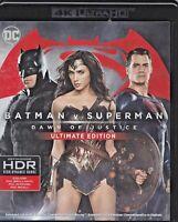 4K UltraHD + Blu-ray BATMAN V SUPERMAN - DAWN OF JUSTICE nuovo 2016