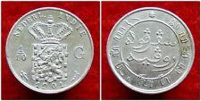 Netherlands Indies - 1/10 Gulden 1901 ~ Scho. 831