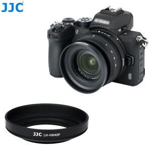 JJC ABS Lens Hood fr Nikon Nikkor Z DX 16-50mm f/3.5-6.3 VR Lens on Z50 as HN-40