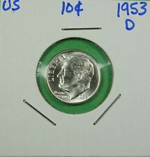 1953-D Roosevelt Dime Choice to Gem Uncirculated - Low Shipping
