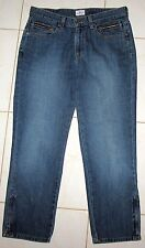 CALVIN KLEIN JEANS - ZIPPERS AT ANKLES AND ZIPPERED POCKETS - MISSES 12