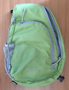 Eddie Bauer Lightweight Ripstop Sling Backpack Hiking Cross Body Shoulder Bag