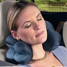 Memory Foam Travel Pillow Flower Shaped Neck Support Headrest Soft Car Flight