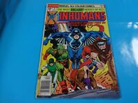 inhumans # 8 issue marvel Comic book Bronze 1st print