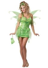 Great Eye Candy 01220 Tinkerbell Pixie Fairy Costume 2x Green