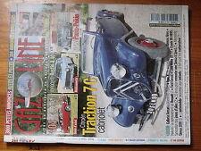 $$v Revue Gazoline N°139 Citroen Traction 7C  Peugeot 404  Innocenti Austin A 40