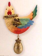 2013 Hallmark Keepsake Twelve Days of Christmas Three French Hens Tree Ornament