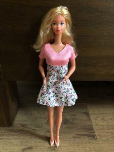 Mattel Kissing Barbie Doll #2597 Vintage 1978 Blonde Hair