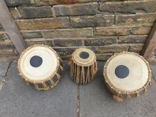 More details for 3 indian tabla drums