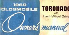 1969 Oldsmobile Toronado Owners Manual User Guide Reference Operator Book Fuses
