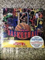 1994-95 TOPPS NBA BASKETBALL SERIES 2 BOX Sealed!!24 PACKS/ RC/