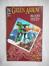 GREEN ARROW N°22 VOLUME 1 VO TBE / FINE