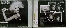 MISSING PERSONS - RHYME & REASON - LP 1984 RARE ORIGINAL USA new wave w/inner