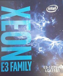 Xeon E3 1275 V6