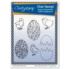 Küken & Ostereier - Clearstamp - Set  von Claritystamp