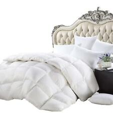 LUXURIOUS King/California King Size Siberian Goose Down Comforter All-Season...