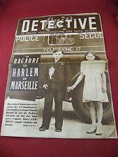 Qui ? Détective N°154 13 Juin 1949 La Bagare du Harlem de Marseille