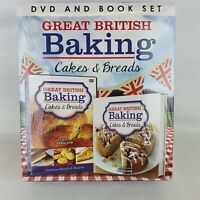 Great British Baking DVD And Book Set Cakes And Breads Brand New Sealed