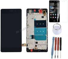 ECRAN LCD VITRE TACTILE SUR CHASSIS BLOC COMPLET PR HUAWEI P8 LITE ALE-L21 NOIR