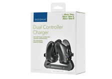 Insignia™ - Dual Controller Charger for Xbox One/S/X ,Two 1200mAh rechargeable