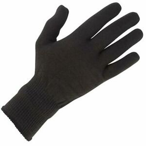 Spada Thermal Motorcycle Inner Gloves Winter Motorbike Scooter One Size Black