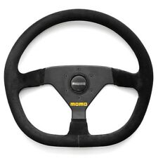 MOMO MOD 88 350mm Suede D Shaped Race Steering Wheel - R1988/35S - IN STOCK!