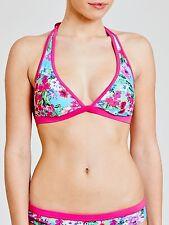 John Lewis Exotic Floral Triangle Pink Bikini Top Size 12 RRP £25