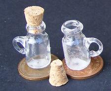 5 Bicchiere Vuoto Conservazione Barattoli Set tumdee Casa delle Bambole Miniatura Negozio FARMACIA