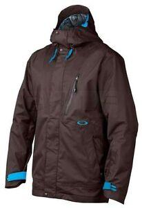 NEW OAKLEY BANFIELD Jacket Breathable Waterproof Mens S SM RECCO SNOWBOARD SKI