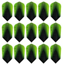5 New Sets Harrows Sonic X Slim Dart Flights – Ships w/ Tracking - Green