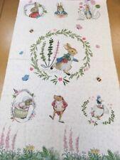 Beatrix Potter™ Cot Panel 100% Cotton